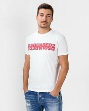 Dsquared T-Shirt Herren Shirt Dsquared2 D2 Print - S74GD0635 -  NEU