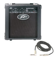 "Peavey Backstage 10W Guitar Combo 6"" Speaker Transtube Amp W/ Instrument Cable"