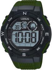 Lorus R2321LX9 Stopwatch Alarm Timer Back Light WR 100M 2 Year Guar RRP £34.99