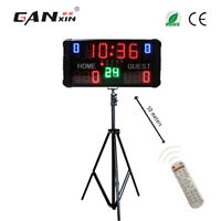 LED Portable Scoreboard Electronic Digital Basketall Scoreboard With Shot Clock