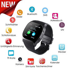 EPIC TIME- T8 Bluetooth Smart Watch- Support SIM- TFcard- Camera- Android iPhone