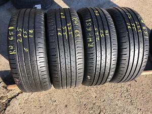 4x225 55 16(99Y) Continental Conti Eco Contact 5 Extra Load Tread 6-6.8 mm