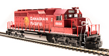 Broadway Limited HO 5364 EMD SD40-2, Canadian Pacific #6604, Golden Beaver, Para