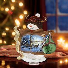 Bradford Editions Persis Clayton Weirs Deer Santa Snowman New 1516831006