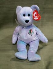 "Ty Beanie Baby Issy Bear New York Four Seasons NY Card /& Bag 8/"" MWMT"