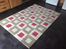 HAND-MADE, DELUXE, 6' x 4', BRAND NEW, NEW ZEALAND WOOL  RUG...FREE  DELIVERY.