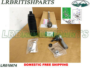 LAND ROVER TIE ROD END OUTER  RANGE ROVER SPORT M16 OEM NEW LR010674