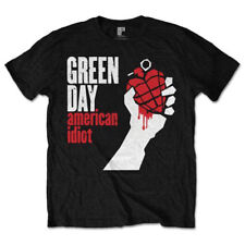 Green Day American Idiot Black T-Shirt Unisex Taille / Size XXL ROCK OFF