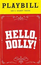 "Bette Midler ""HELLO DOLLY"" David Hyde Pierce 2017 OPENING NIGHT Playbill"
