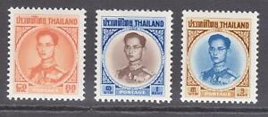 Thailand 1963 MVLH. Definitive Issues. Superb A+A+A+
