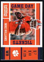 2017 Panini Contenders Draft Picks Football Game Day Tickets #9 Mike Williams