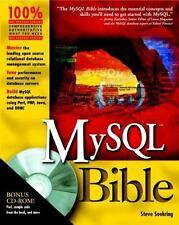 Bible: MySql Bible 27 by Steve Suehring (2002, Paperback / Online Resource)
