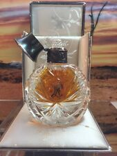 Vintage Ralph Lauren Safari Pure Perfume In Crystal Bottle 1oz New, Boxed