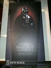 """Star Wars Sixith Scale Darth Vader Sideshow Return Of the Jedi 1/6 12"""" Figure"""