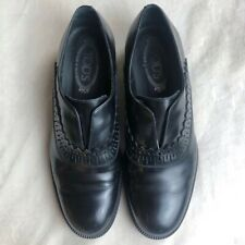 TOD'S | Women's Leather Slip-Ons | Size 9.5