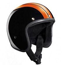 """TITAN /""""retro/"""" nuovo casco di culto di scorpione HARLEY Police CHOPPER CASCO JET Taglia XL"""