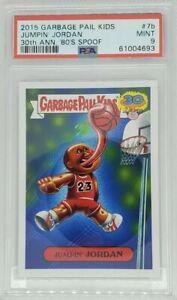 PSA 9 Jumpin' Michael Jordan Card 7B 30th Ann. Garbage Pail Kids GPK