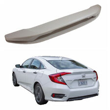 Customize Painted Rear Trunk Spoiler for Honda Civic 10th 2016-2017 With Lamp