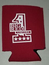 Big Red Liquors Beer Can Koozie Cooler Insulated