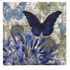Decoupage Butterfly Tissue Party Wedding Vintage Napkins Paper Serviettes 20pcs