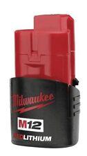 MILWAUKEE M12 12V LITHIUM ION BATTERY C12B 48-11-2401