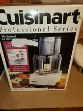 Cuisinart DLC-8s Food Processor, 11 Cup Pro Custom White New In Box