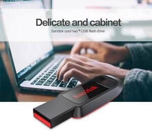 New USB Flash Drive 16GB 32GB Black Sandisk Pen Drive high quality free shipping
