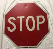 Vintage NYC REAL STOP SIGN. highly collectible