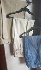 SET OF 3:GIORDANO, DOCKERS & BOSSINI MEN'S RELAXED FIT PANTS,Size 34 Waist