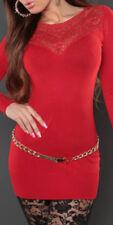 Vestiti da donna rossi marca Koucla