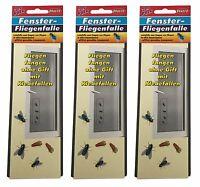 9 x Fensterfliegenfalle von BRAECO, Fliegenfänger  gegen Fliegen, Insekten, NEU