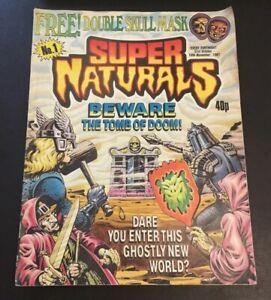 Supernaturals Comic 1987 No 1 'Beware The Tomb of Doom!'
