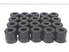 SLOT CAR HO SCALE ( 20 PAIR SILICONE TIRES FITS T-JET TUFF ONES ) NEW
