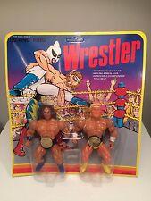 Vintage Wrestler Action Figure ko - Andre the Giant VS Hulk Hogan
