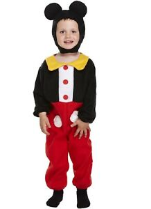 Mouse Boy Toddler Child Costume World Book Week Day School Kid Fancy Dress Party