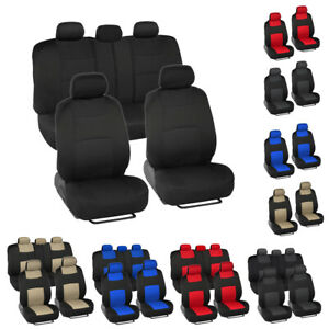5 Colors Auto Seat Covers for Car Truck SUV Van Universal Protectors Polyester