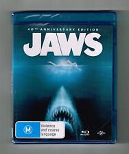 Jaws (40Th Anniversary Edition) Blu-ray Brand New & Sealed