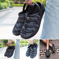 Men Non Skid Lightweight Slippers Slip On Breathable Sandals Outdoor Shoes Clogs