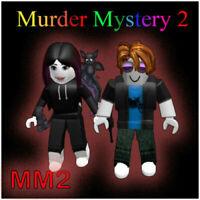 Fastest Murder Round In Murder Mystery 2 Roblox Murder Mystery Cheapest Mm2 Rare Chromas Roblox Fastest Ebay