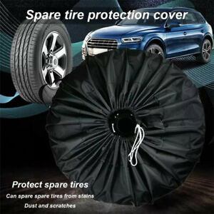 Spare Tyre Cover Wheel Cover Tyre Bag Space Saver For Car Motorhome Van Truck UK
