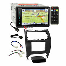 Soundstream Sirius GPS Bluetooth Stereo Dash Kit Harness for 12-14 Toyota Camry