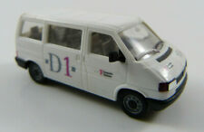 VW Caravelle Transporter Telekom weiss Eigenbau Herpa 1:87 H0 ohne OVP [MB19]