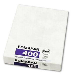 *NEW* Fomapan 400 4x5 sheet film (50 sheets)