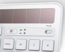Logitech K750 Keyboard *MAC* B/W - Keys, Clips, Parts (Read Listing Details lot)