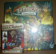 ZOMBICIDE GREEN HORDE Horde Box Kickstarter Exclusive & Sean A. Murray Guest Box