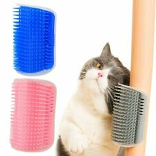 Corner Pet Brush Comb Cat Self Grooming Brush Dog Wall Massage Comb Cat Grooming
