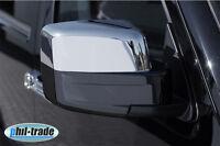 1 Set Edelstahl Spiegel Kappen V2A für Jeep Patriot Cherokee Liberty Dodge Nitro