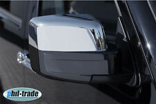 Chrome Miroir bouchons caches JEEP patriot Cherokee Liberty Dodge Nitro en acier inoxydable