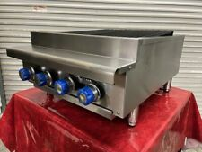 24 Radiant Char Broiler Natural Gas Grill Imperial Range Irb 24 4742