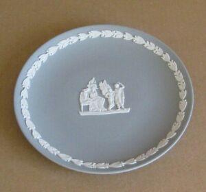 Wedgwood Jasperware Grey Icarus Plate
